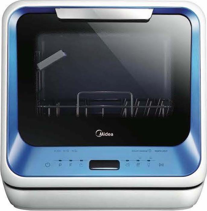 Посудомоечная машина Midea MCFD42900BL Mini, голубой