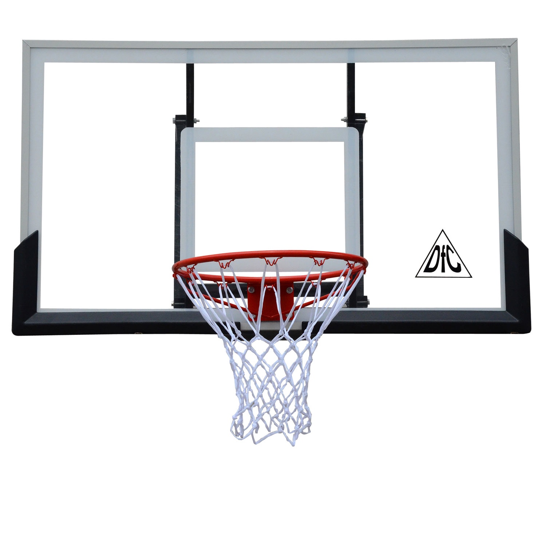 Баскетбольный щит DFC BOARD60A, черно-серый, оранжевый баскетбольный щит dfc board32 80x58 см