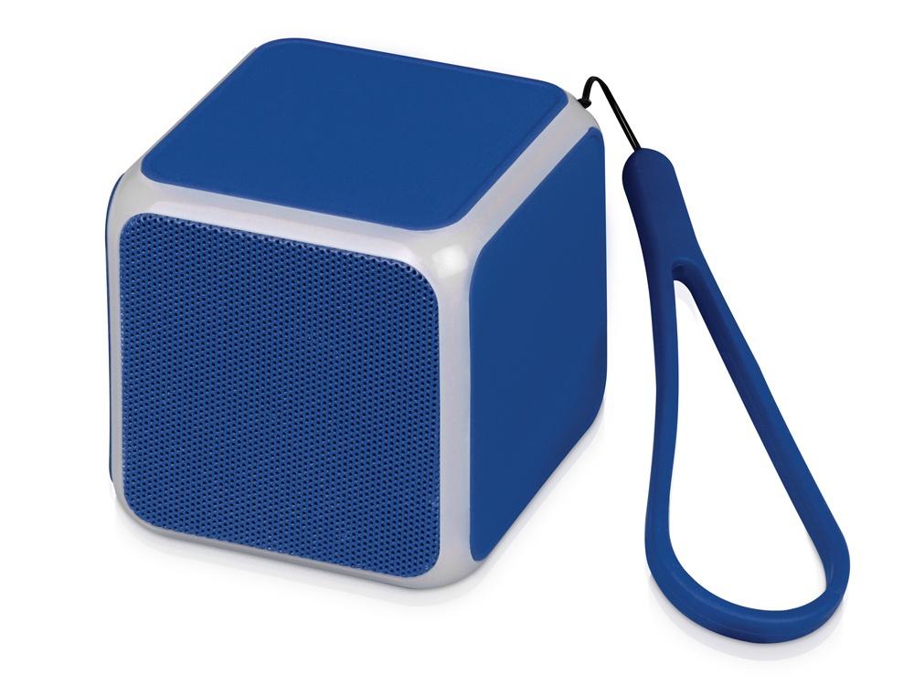 Беспроводная колонка Oasis Cube, синий