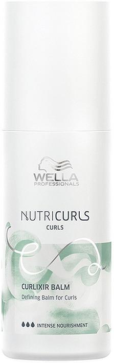 Крем-бальзам для фиксации и создания упругих локонов Wella Professionals Nutricurls Curlixir Balm Defining Balm for Curls, 150 мл wella питательный крем бальзам 150 мл