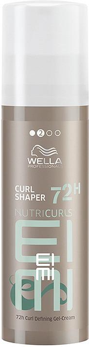 Крем для укладки кудрявых волос Wella Professionals Nutricurls EIMI Curl Shaper 72H Curl Defining Gel-Cream, 150 мл крем alterna anti frizz curl defining cream 133 мл