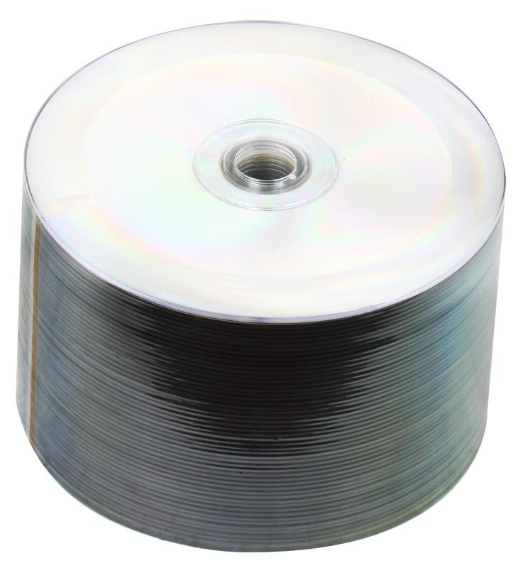 CD-R СМС Диск 80 52x Bulk/50 шт (CMC), серебристый