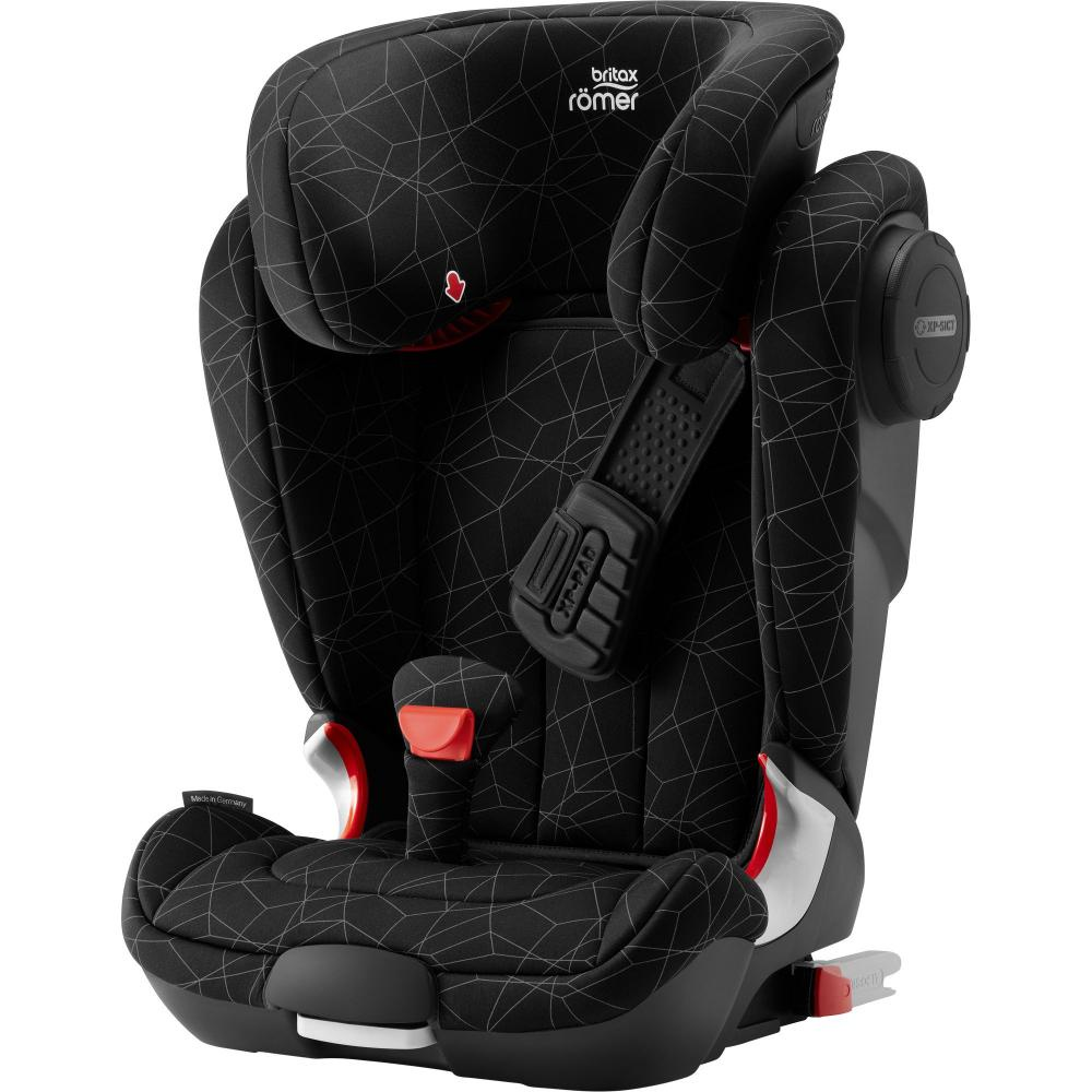 Britax Roemer автокресло Kidfix II XP SICT Black Series Crystal Black Highline (Группа 2-3, цена
