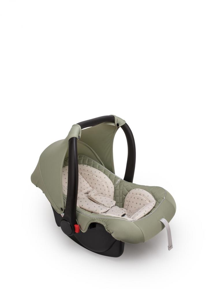 Happy Baby Автокресло SKYLER V2 green гр. 0+