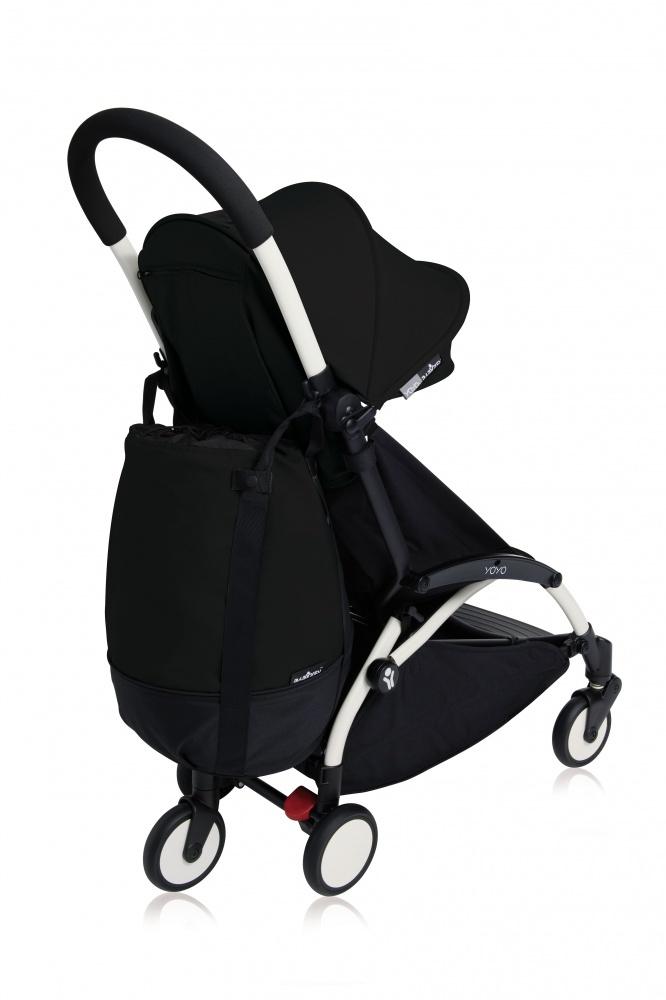купить Babyzen Сумка для коляски YOYO+ с колесом платформой Black недорого