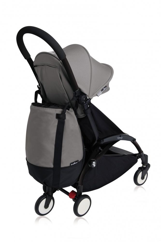 купить Babyzen Сумка для коляски YOYO+ с колесом платформой Grey недорого