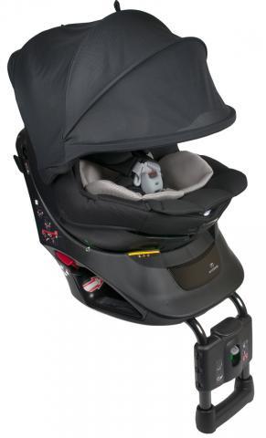 Ailebebe Carmate автокресло KURUTTO NT2 Premium гр.0+/1 (0-18 кг) цв. черный автокресло ailebebe carmate swing moon premium 9 25 кг черно серое