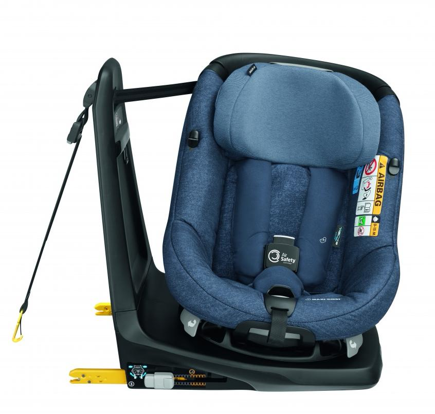 цены Maxi-Cosi автокресло AxissFix AIR Nomad Blue (61-105 см, 4 мес-4 года)