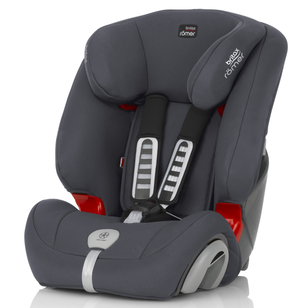 Britax Roemer автокресло Evolva Plus Storm Grey (Группа 1/2/3) аксессуары для колясок и автокресел виталфарм корректор лямок ремня безопасности для детей