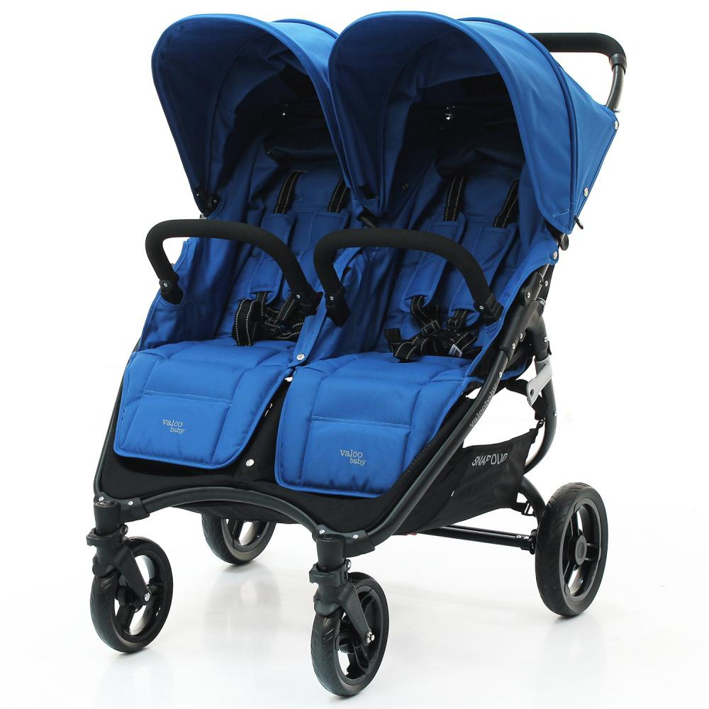 Valco Baby Коляска для двойни SNAP DUO Twin/ Ocean Blue коляска для двойни cozy smart duo navy melange
