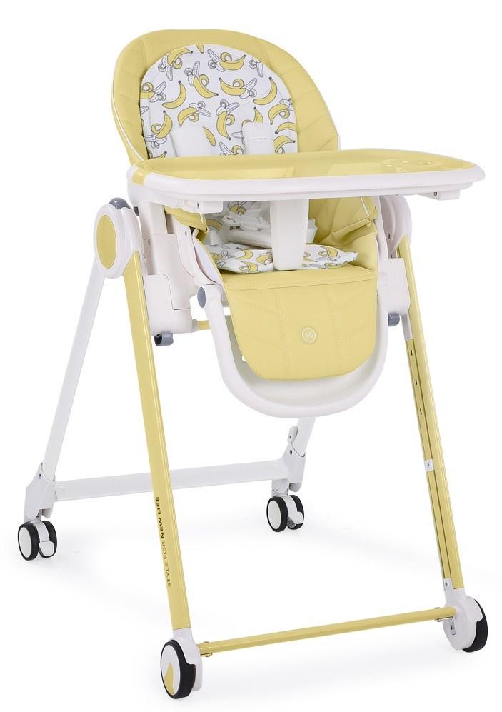 Happy Baby Стул для кормления BERNY yellow