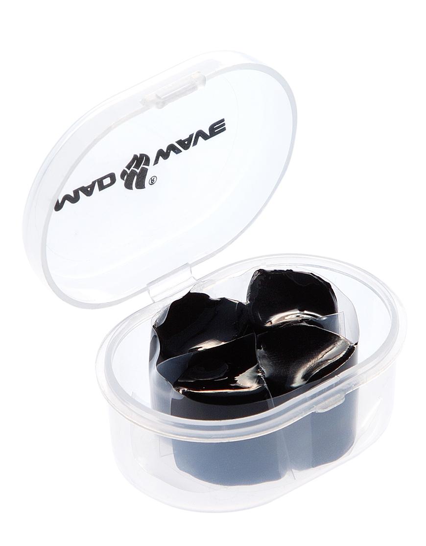 Беруши для плавания MadWave Ear Plugs Silicone, M0714 01 0 01W, черный