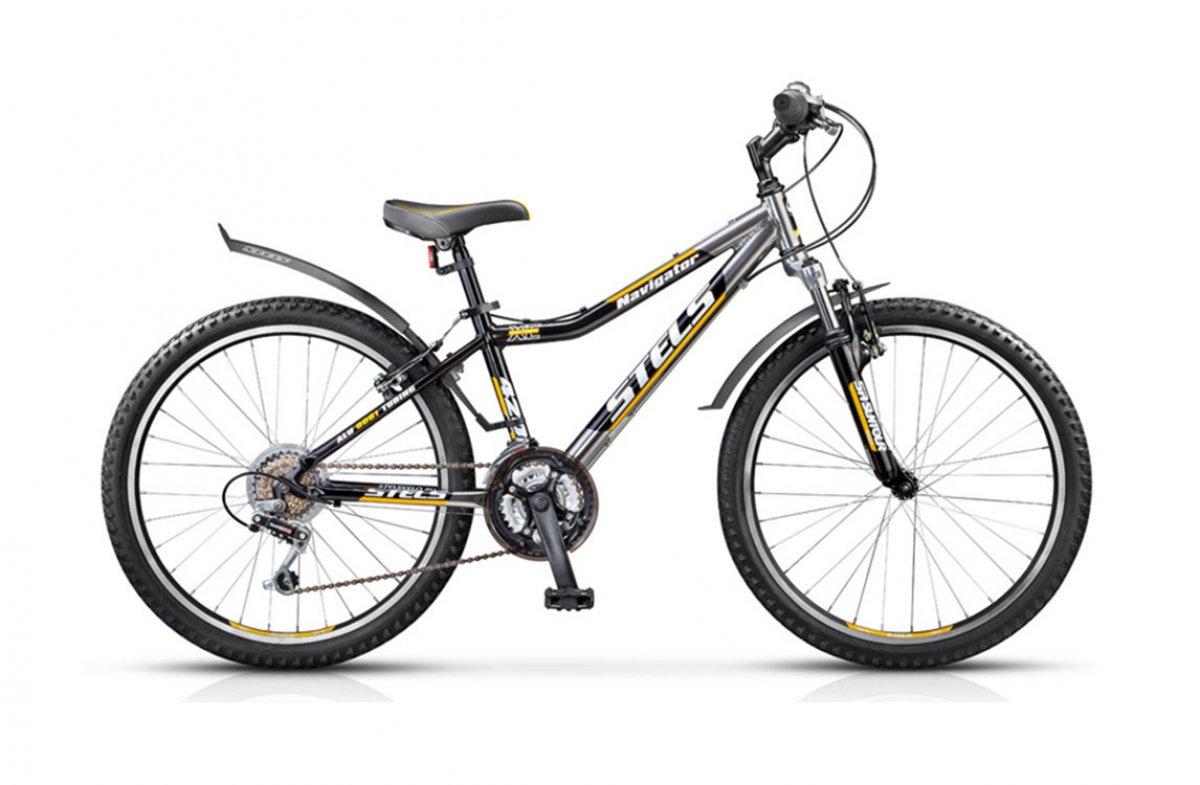 все цены на Велосипед Stels Navigator 420V, серебристый, черный, желтый онлайн