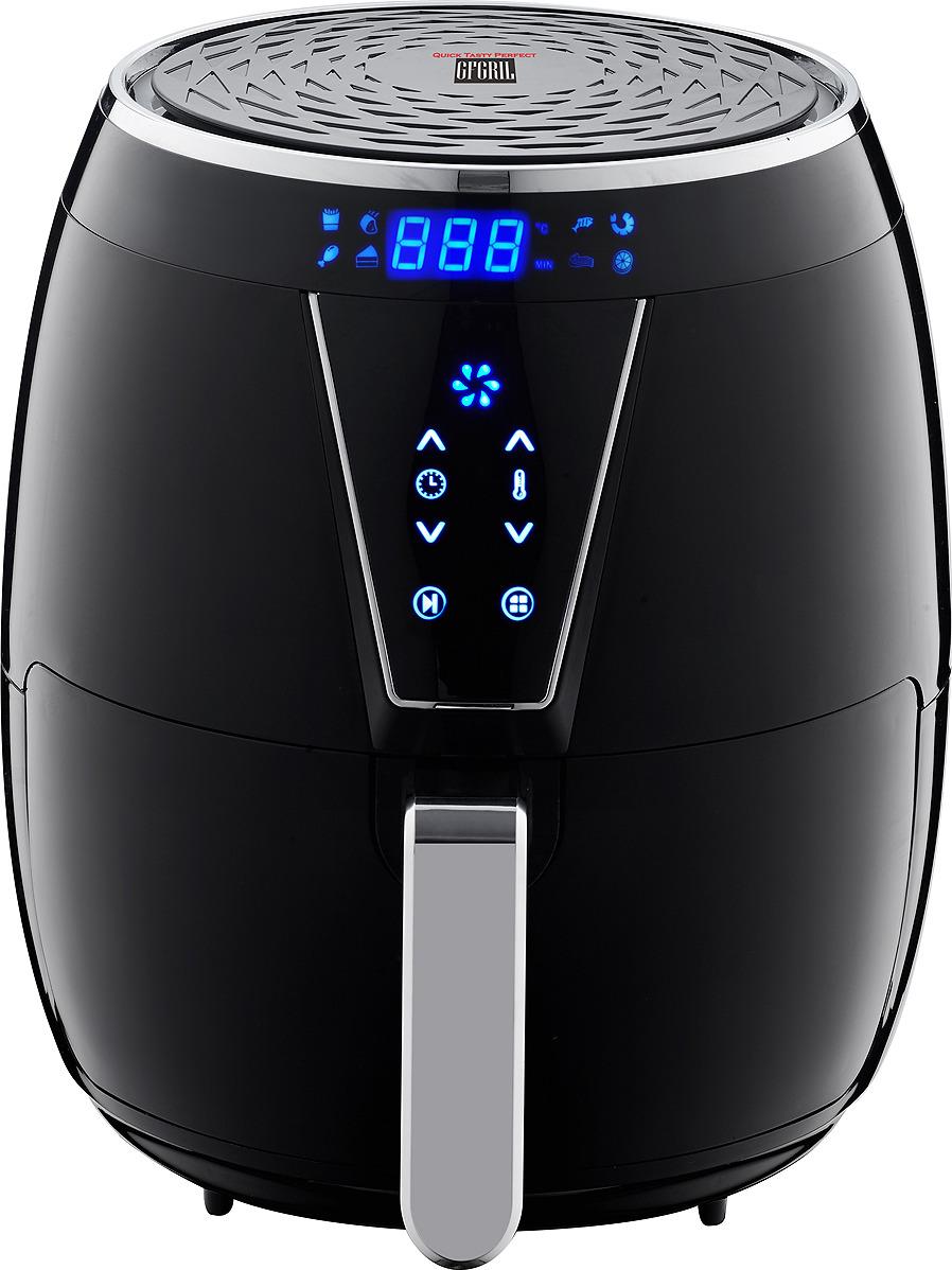 Аэрогриль GFgril GFA-4000 Air Fryer, черный