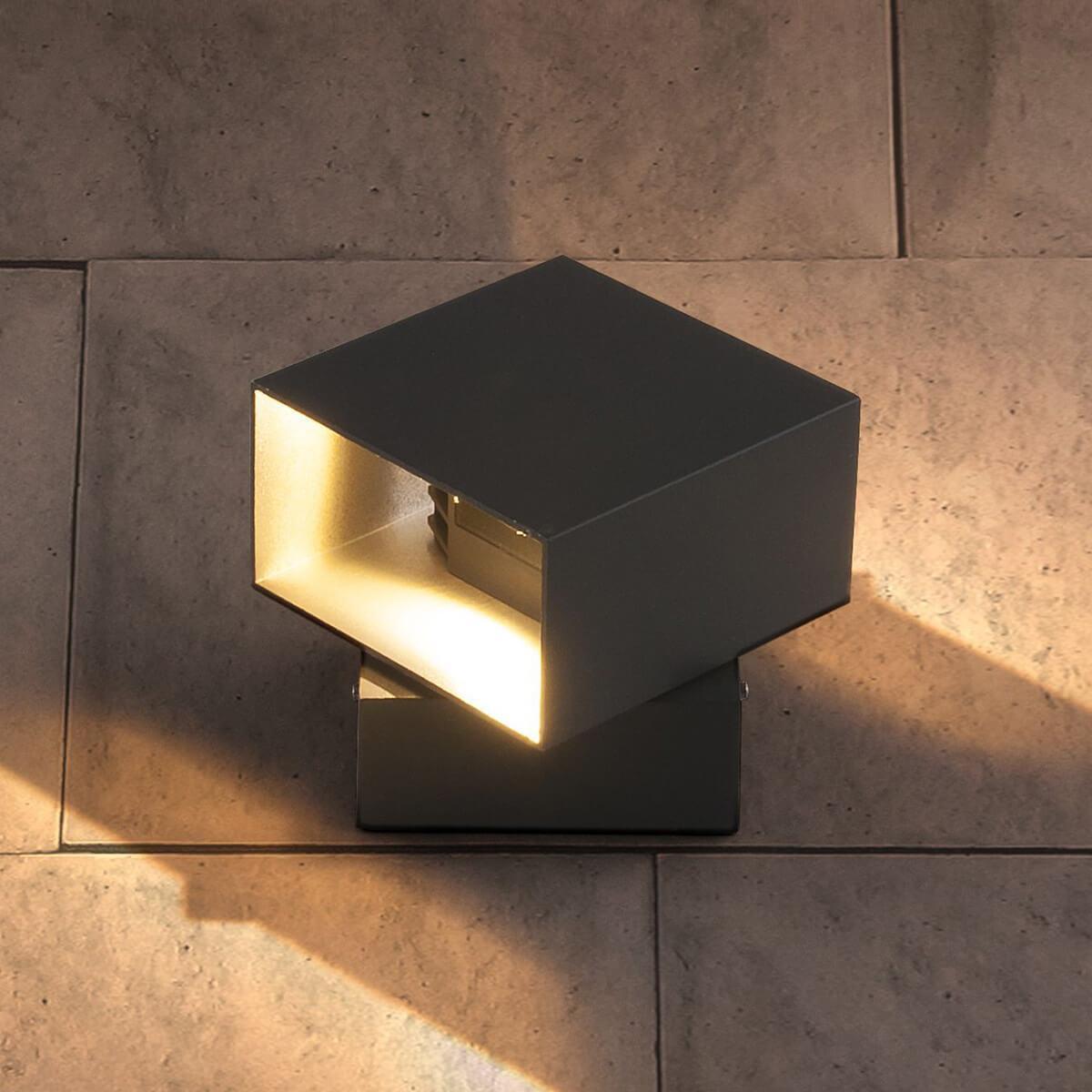 Уличный светильник Elektrostandard 4690389086069, LED уличный настенный светодиодный светильник elektrostandard 4690389086137