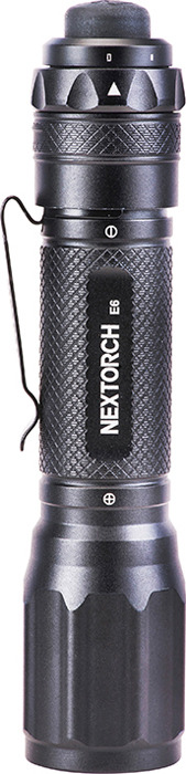 Ручной фонарь Nextorch Outdoor E6, черный nitecore mh10 1000 lumens cree xm l2 u2 led flashlight throw 232 meters waterproof light flashlight by 18650 battery