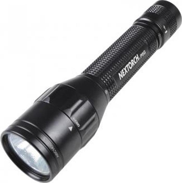 Ручной фонарь Nextorch Police P5G, с проводом micro USB, черный