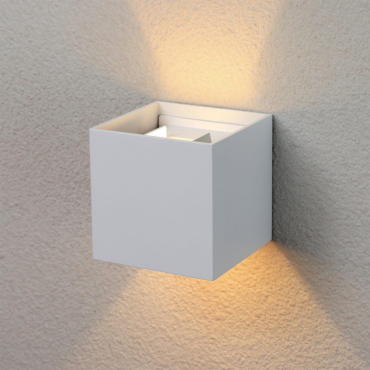 Уличный светильник Elektrostandard 4690389106286, LED уличный настенный светодиодный светильник elektrostandard 4690389086137