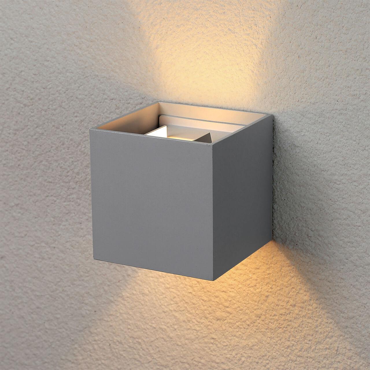 Уличный светильник Elektrostandard 4690389106262, LED уличный настенный светодиодный светильник elektrostandard 1605 techno led sokar графит 4690389086038