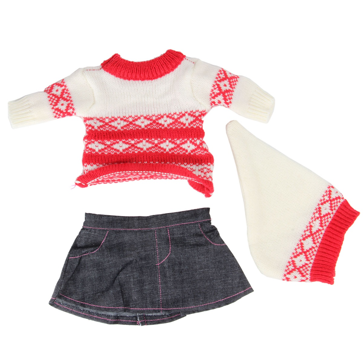 куклы и одежда для кукол asi одежда для кукол 60 см 0000092 Одежда для кукол Veld Co. 75902