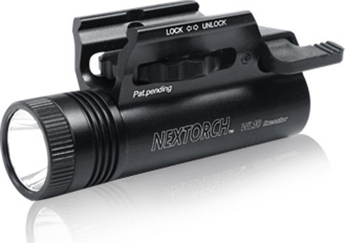 Ручной фонарь Nextorch Tactical WL10X Executor, черный фонарь тактический nextorch pa5 660 lum цвет черный