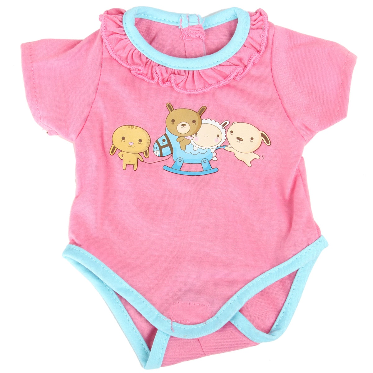 Одежда для кукол Veld Co 75905 одежда для кукол 40 42 см розовый боди