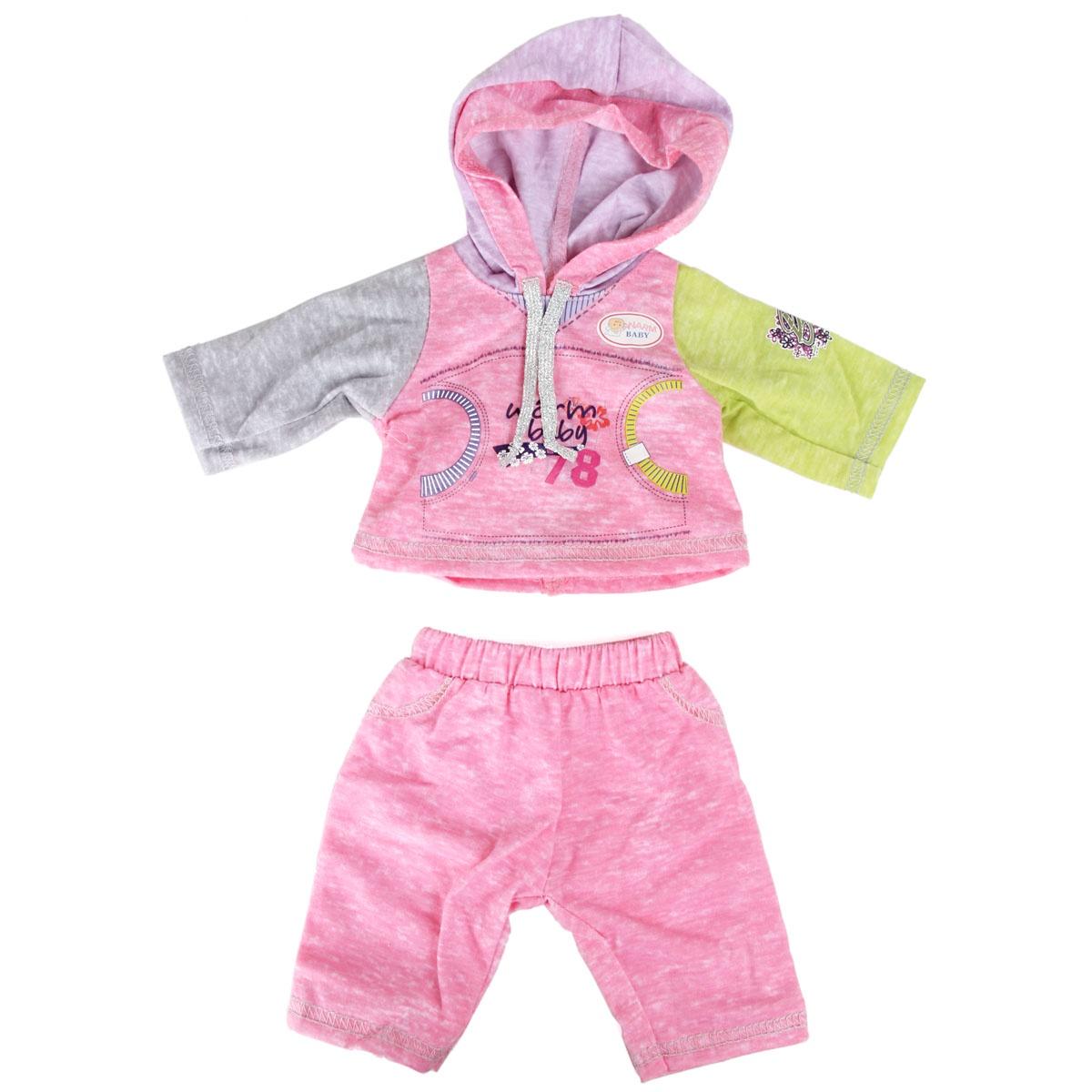 куклы и одежда для кукол asi одежда для кукол 60 см 0000092 Одежда для кукол Veld Co 75907