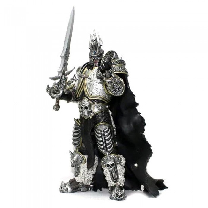 цена Фигурка World of Warcraft - Arthas The Lich King (17 см) онлайн в 2017 году