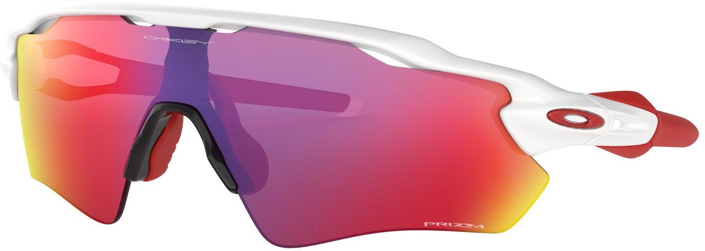 Велосипедные очки Oakley Radar Ev Path, 0OO9208-920805, желтый, красный, фиолетовый