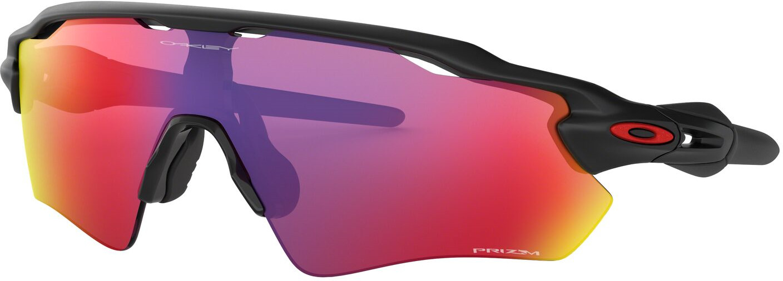 Велосипедные очки Oakley Radar Ev Path, 0OO9208-920846, желтый, красный, фиолетовый