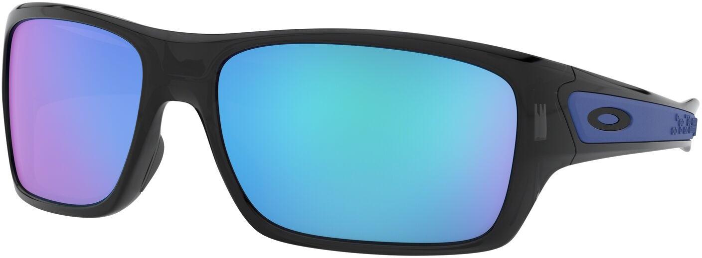 лучшая цена Велосипедные очки Oakley Turbine, 0OO9263-926305, синий