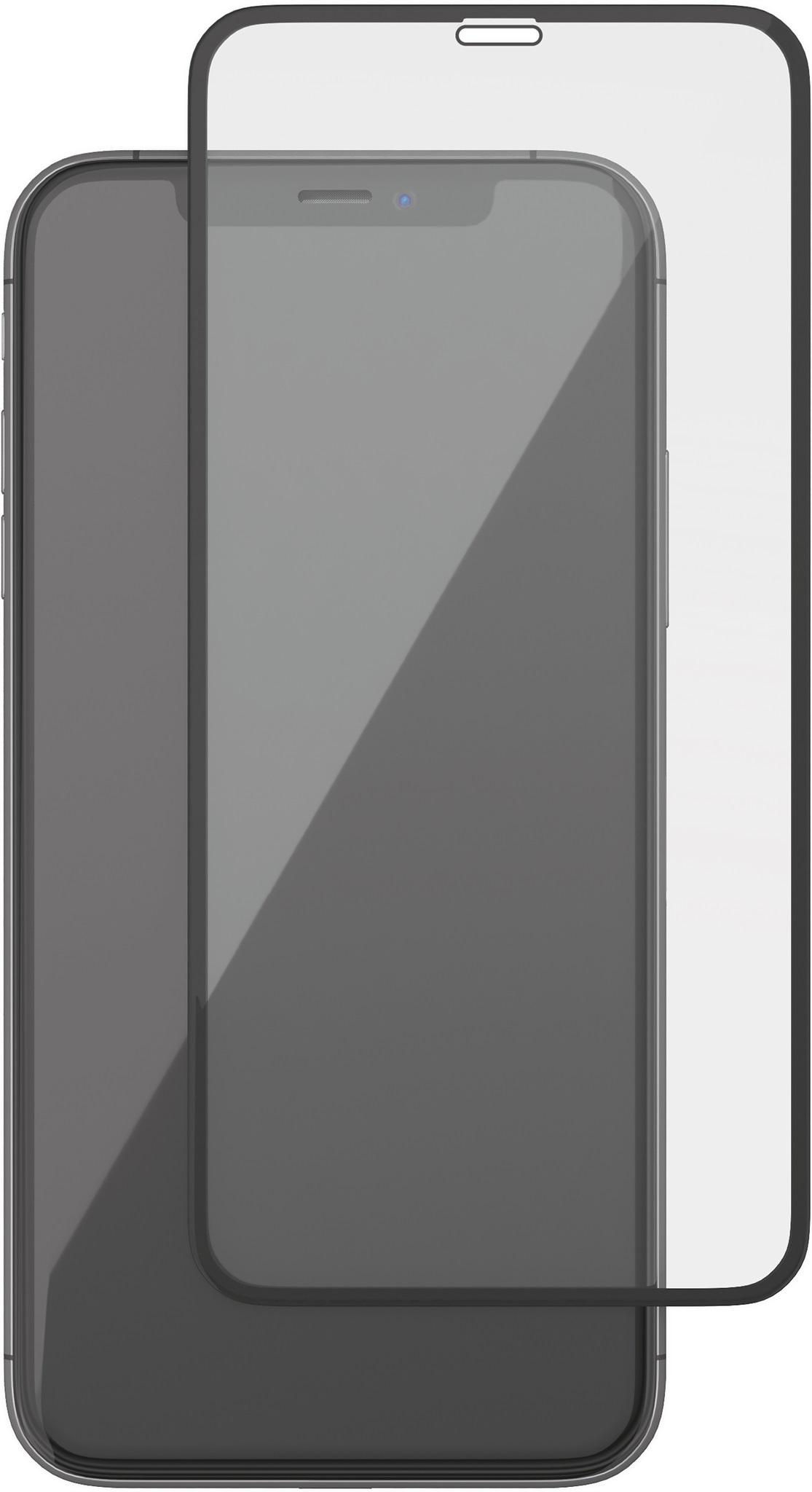 Защитное стекло uBear 3D Full Screen Premium Glas для iPhone Xs Max, черный цена и фото