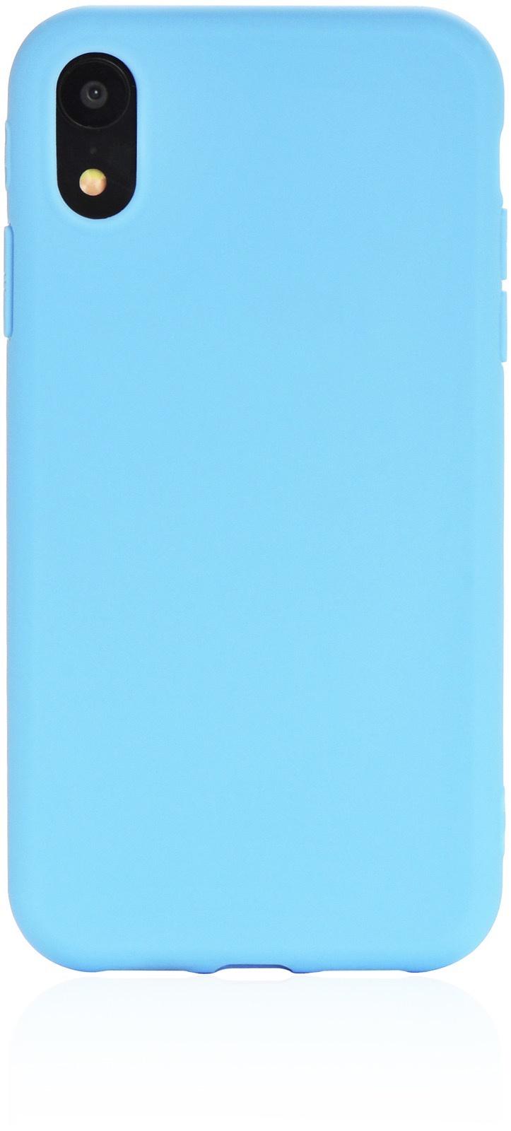"""Чехол для сотового телефона Gurdini накладка Soft Lux силикон (9) для Apple iPhone XR 6.1"""", голубой"""