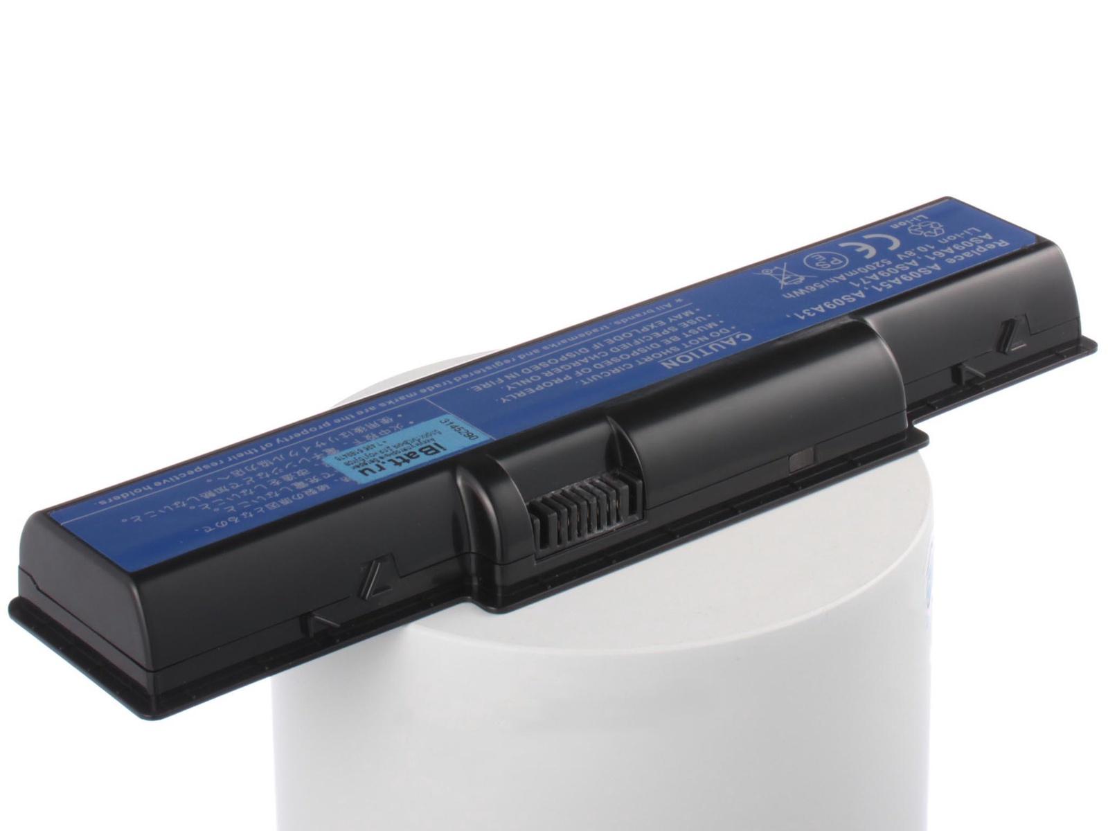 Аккумулятор для ноутбука iBatt для Acer eMachines E525, eMachines E725, Aspire 5732Z, eMachine G525, eMachines G525, Aspire 5541G, Aspire 5541, eMachines E527, Aspire 5732ZG, eMachine G725, eMachines G725, Aspire 5532 монитор emachines e220hqv