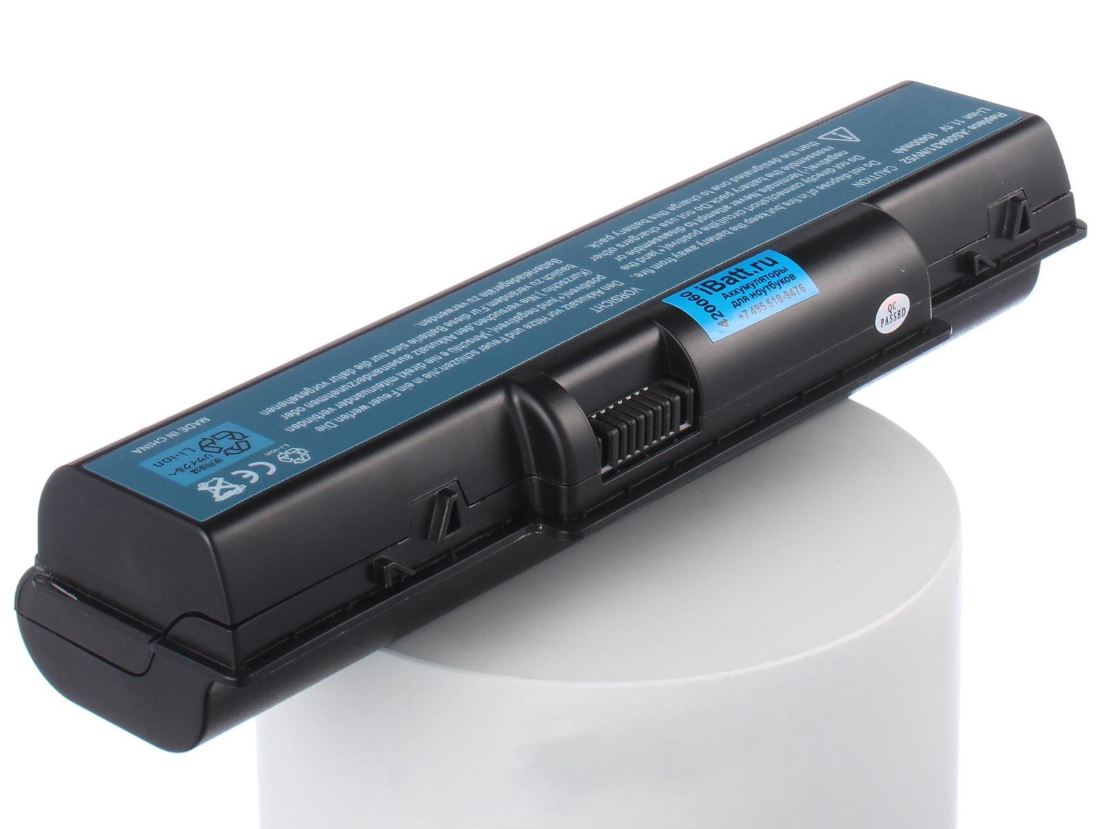 Аккумулятор для ноутбука iBatt eMachines E525-902G16Mi, E625-203G16Mi, E725-423G25Mi, E725-433G25Mi, E525-902G25Mi, E627-203G25Mi, E725-442G25Mi, D520-571G12Mi, E525-312G25Mi, E727-452G25Mi, E525-302G16Mi, E725-432G25Mi