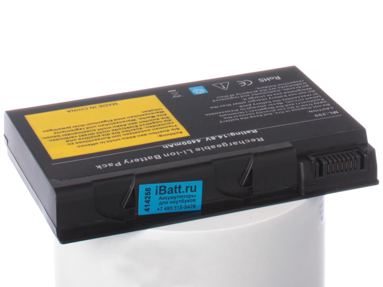 Фото - Аккумулятор для ноутбука iBatt Acer BATCL50L, BTP-04, BATCL50L4 аккумулятор