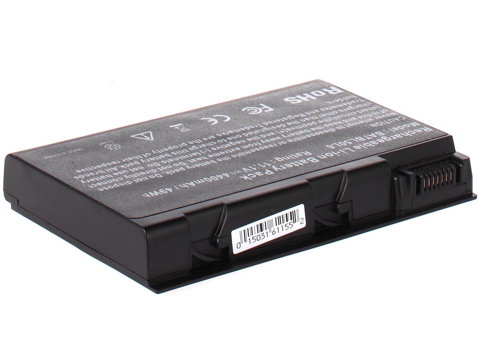 Аккумулятор для ноутбука AnyBatt для Acer Aspire 3692, Aspire 9802, Aspire 5611AWLMI, TravelMate 4233WLMi, Aspire 5103WLMI, TravelMate 5510, TravelMate 4202WLMi, Aspire 5102AWLMi, Aspire 5610Z, Aspire 5112, Aspire 9802WKMi acer aspire switch 10