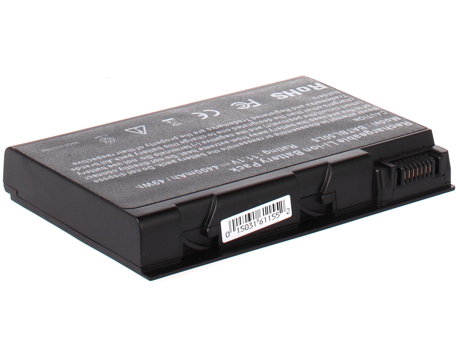 Аккумулятор для ноутбука AnyBatt для Acer Aspire 5612AWLMI, Aspire 5660, Aspire 5683WLMi, Aspire 9800WKMi, Aspire 9802AWKMiB, Aspire 9802WLMI, Aspire 9803, Aspire 9803WKMi, Aspire 9804WKHi, Aspire 9804WKMi, TravelMate 2492NWLMi цена