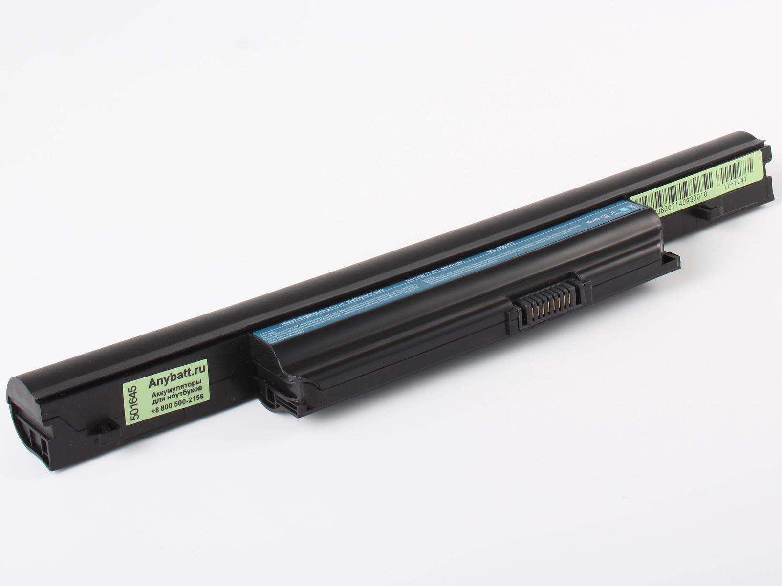 Аккумулятор для ноутбука AnyBatt для Acer Aspire 5745DG-5464G64Biks, Aspire 5745PG-484G64Miks, Aspire TimelineX 3820TG-373G32iks, Aspire TimelineX 3820TG-5454G32iks, Aspire TimelineX 4820TG-383G32Miks, Aspire 5745G-5464G75Miks цена в Москве и Питере