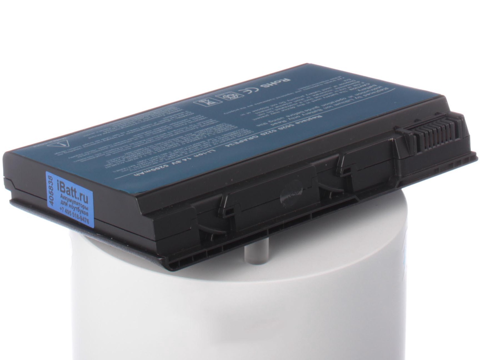 Аккумулятор для ноутбука iBatt для Acer Extensa 5610, TravelMate 5720G, Extensa 7620, Travelmate 6592, Extensa 5230E, Extensa 5230, Extensa 5200, TravelMate 5520, Extensa 5630Z, TravelMate 5730, TravelMate 5520G, Extensa 5510 цены