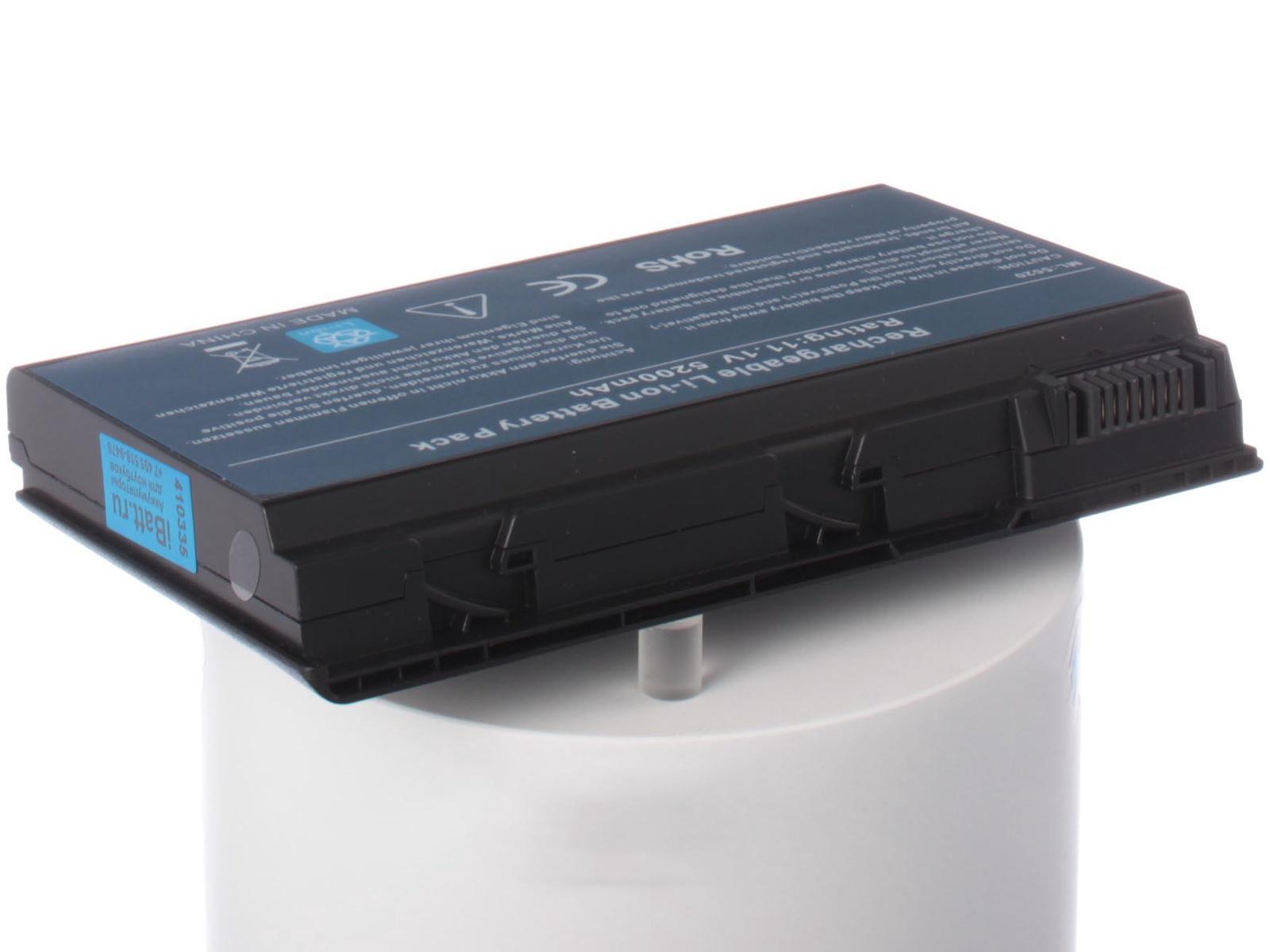 Аккумулятор для ноутбука iBatt для Acer Extensa 7220, TravelMate 7720G, TravelMate 6592G, TravelMate 6460, Extensa 5420, Extensa 5620-1A1G16Mi, TravelMate 7720, Extensa 5520, Extensa 5430-622G16Mi, TravelMate 5310 цены