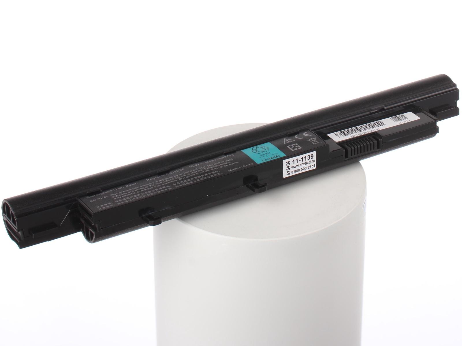 Аккумулятор для ноутбука AnyBatt для Acer Aspire 4410-723G25Mi, Aspire 5538G-313G32Mn, Travelmate 8371-944G25i, Aspire 3410-233G25i, Aspire 4810TG-354G32Mi, для Gateway EC38, EC54, EC58, для Packard Bell EasyNote Butterfly S mymei outdoor 90db ring alarm loud horn aluminum bicycle bike safety handlebar bell