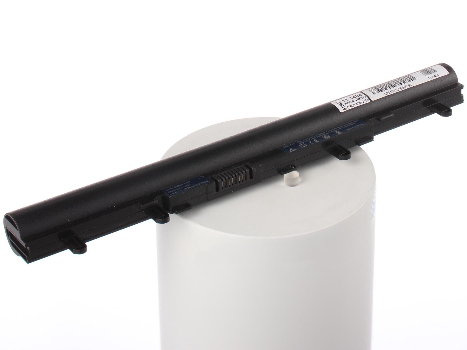 Аккумулятор для ноутбука AnyBatt для Acer Aspire V5-571G-53316G50Mass, Aspire V5-571G-53316G50Makk, Aspire V5-551G-64454G50Makk, Aspire E1-410-29204G1TMnkk, Aspire E1-572G-54204G50Mnkk, Aspire V5-551-84554G50Makk 15 6 laptop lcd matrix screen for acer aspire v5 551g v5 551 v5 531g v5 531 v5 571 v5 571g zr7 pew71 1366x768 40pin
