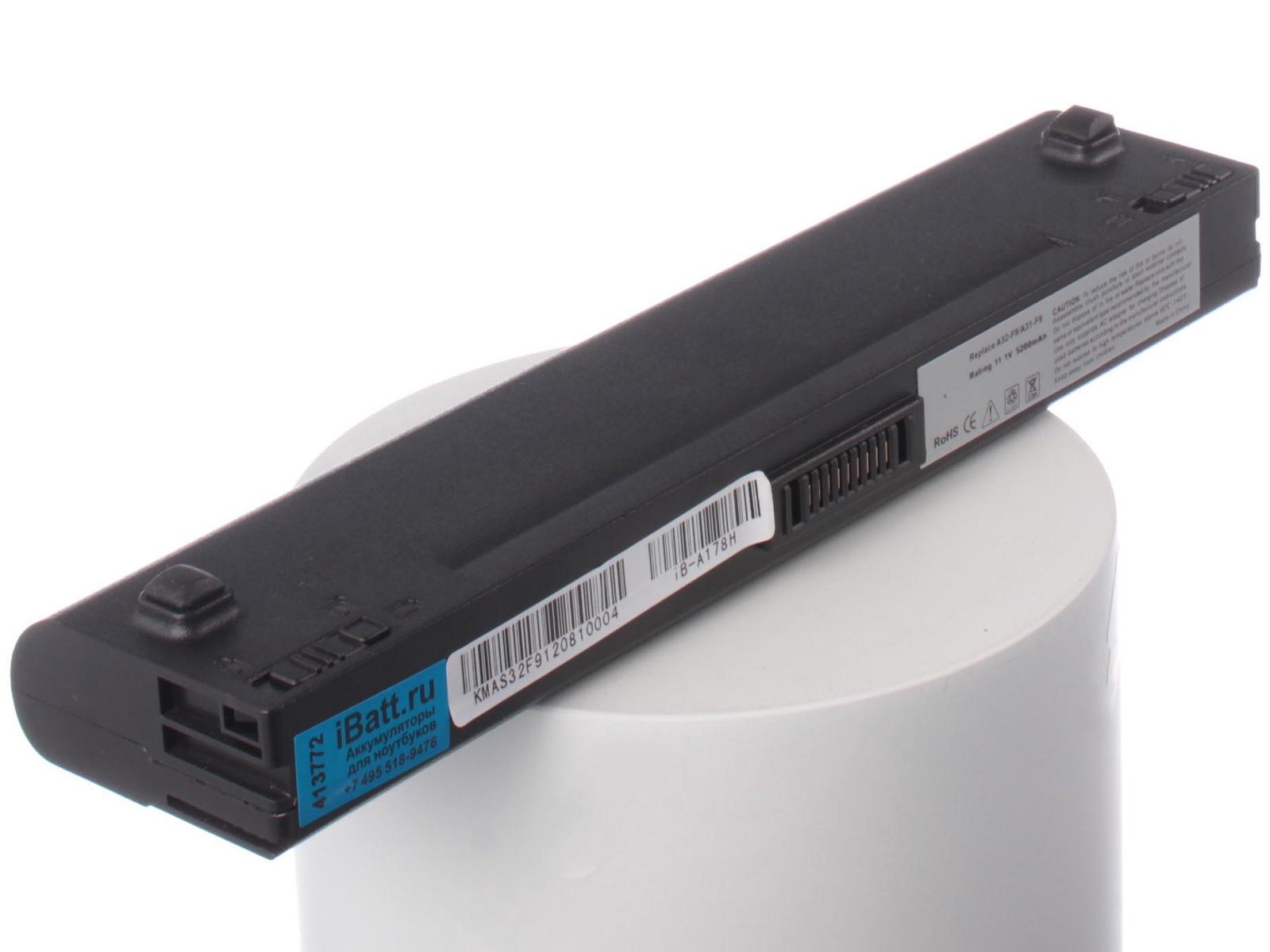 Аккумулятор для ноутбука iBatt Asus A32-F9, A31-F9, A32-F6