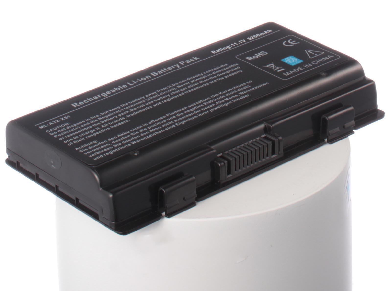 Фото - Аккумулятор для ноутбука iBatt Asus A32-X51, A32-T12, 90-NQK1B1000Y аккумулятор