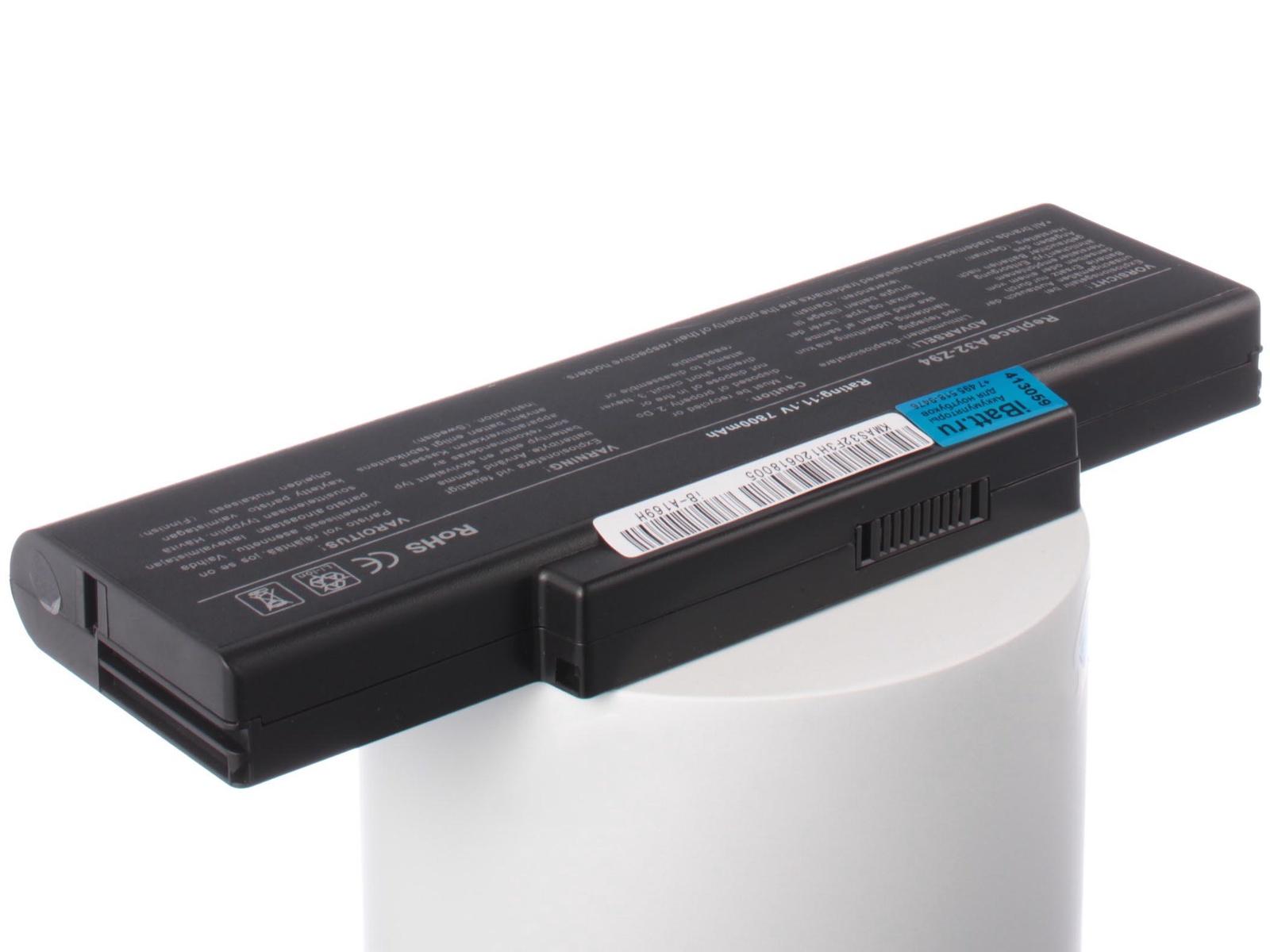 Аккумулятор для ноутбука iBatt Asus A32-F3, A33-F3, A32-F2, BAT-F3, 90-NI11B1000, 15G10N353630, 70R-NI81B1000 аккумулятор для ноутбука hp compaq hstnn lb12 hstnn ib12 hstnn c02c hstnn ub12 hstnn ib27 nc4200 nc4400 tc4200 6cell tc4400 hstnn ib12