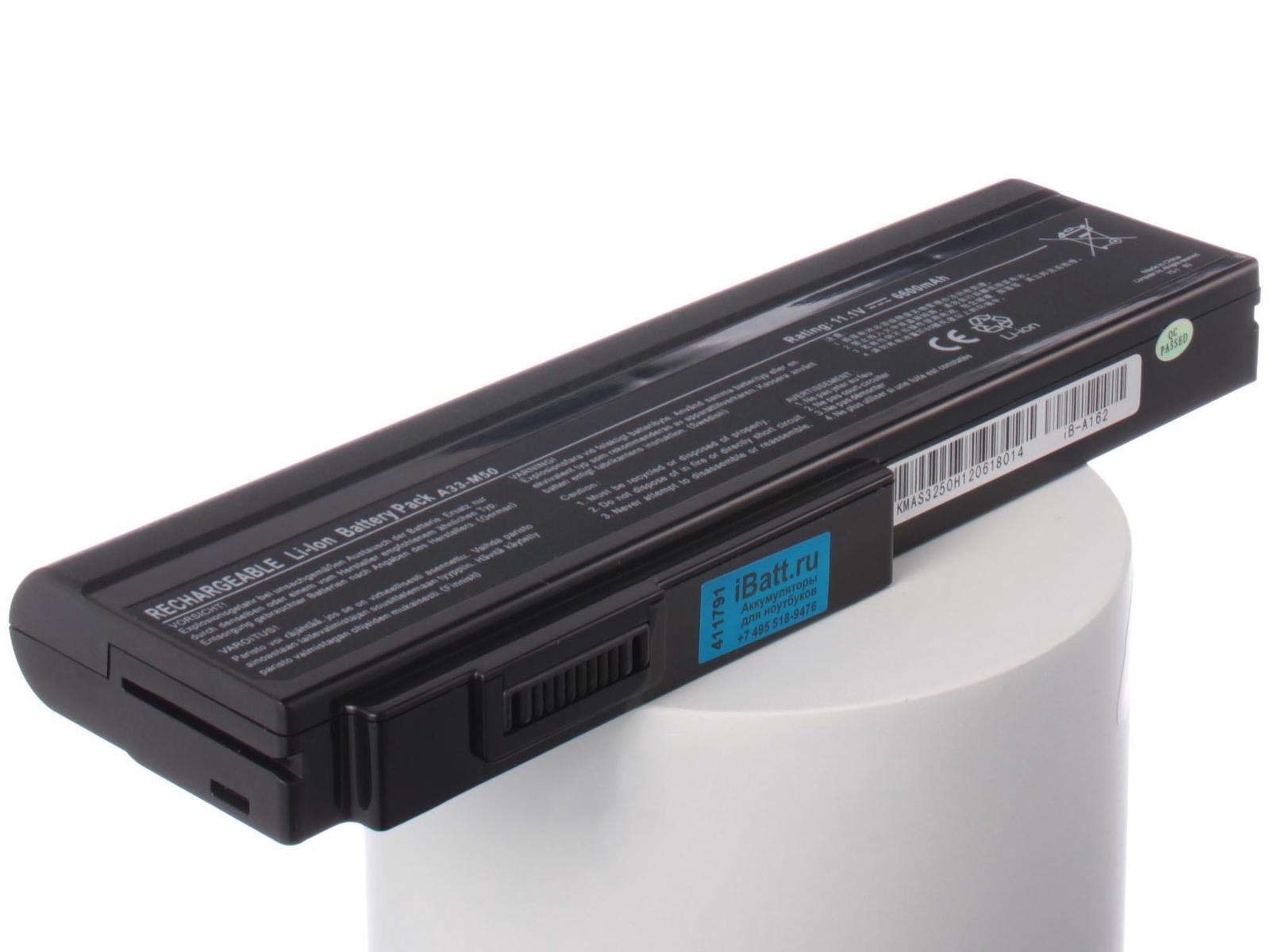 Аккумулятор для ноутбука iBatt Asus A32-N61, A32-M50, A32-H36, A33-M50, 90-NED1B2100Y, A31-B43, A32-X64, 15G10N373800, L072051, L0790C6
