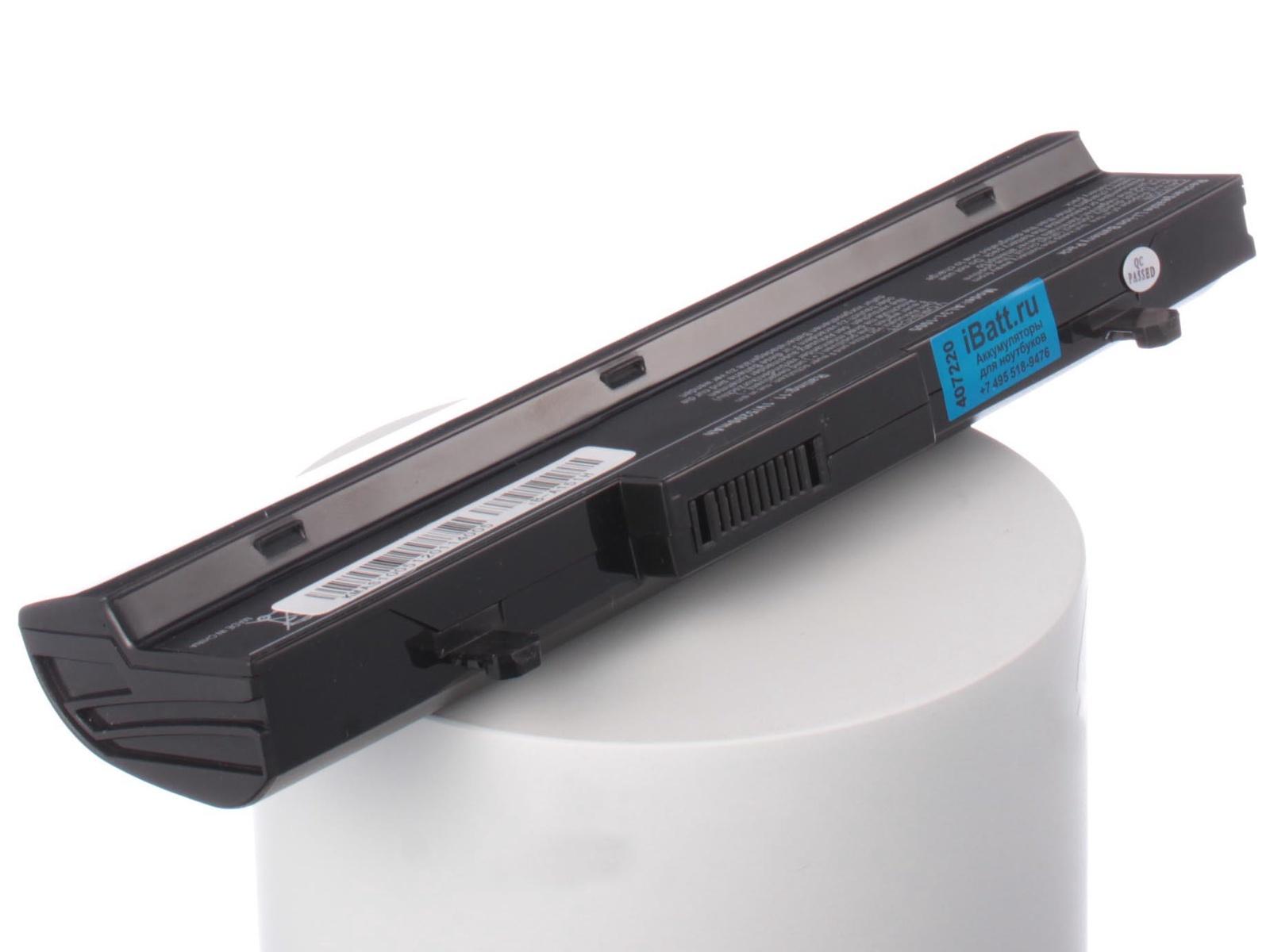 Аккумулятор для ноутбука iBatt для Asus Eee PC 1005PE, Eee PC 1005HAG, Eee PC 1001PG, Eee PC 1001HAG, Eee PC 1101, Eee PC 1005PR, Eee PC 1005H, Eee PC 1001PQ, Eee PC 1005HAB, Eee PC R105, Eee PC 1005HA-V, Eee PC R101