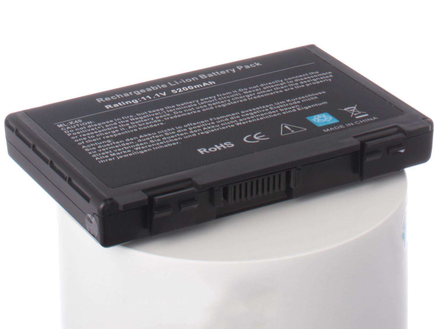Аккумулятор для ноутбука iBatt Asus A32-F82, A32-F52, L0690L6, 90-NVD1B1000Y, CS-AUF82NB, iB-A145, iB-A145H, iB-A145X, TOP-K50, 11-1145, A31-F52, A32-K40, L0A2016 цена