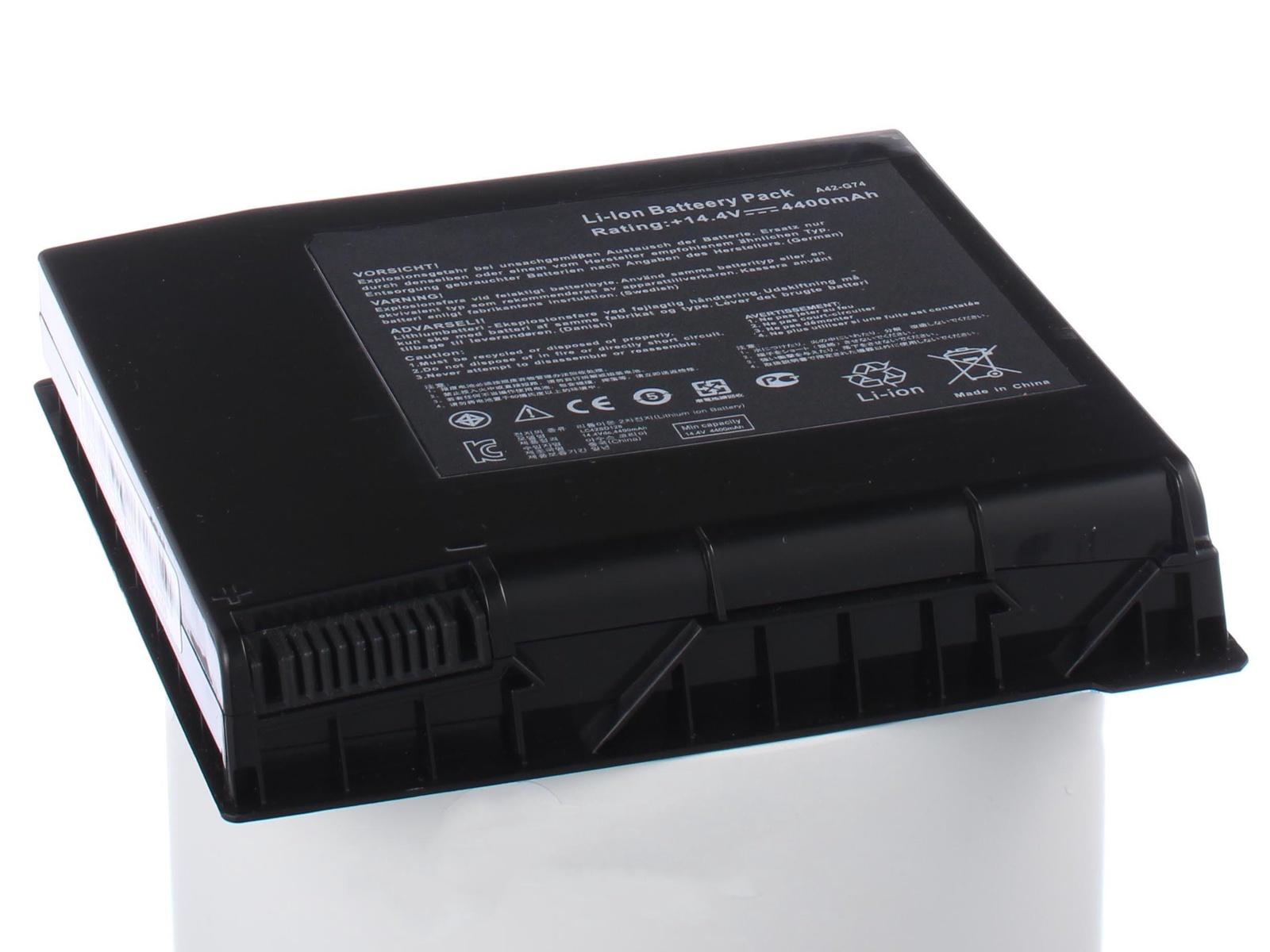 Фото - Аккумулятор для ноутбука iBatt Asus ICR18650-26F, A42-G74 аккумулятор